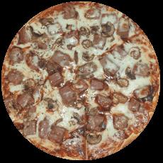 Spare Rib Pizza